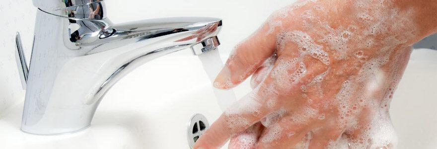 hygiène contre l'infection
